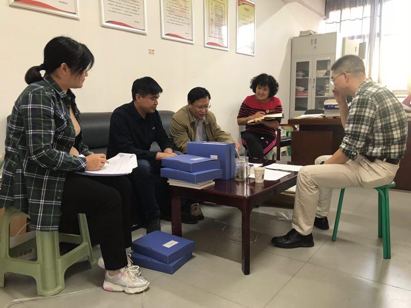 学校领导到基础课教学部准备评估情况指导检查小学体育稻香村季媛媛图片